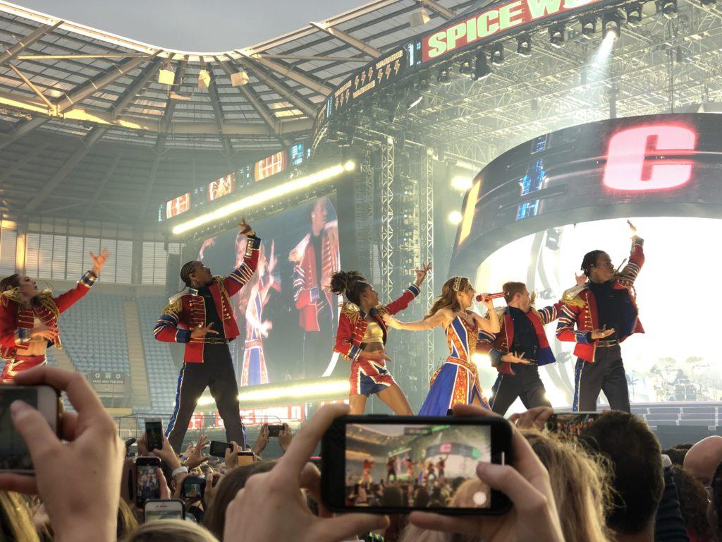 Spice Girls, Spice World tour, Geri, Silent Sunday, Sunday Snap