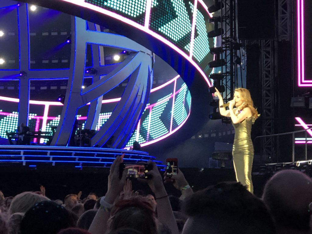 Geri, Spice Girls, Spice World tour, Spice Up Your Life, Coventry, Ricoh arena