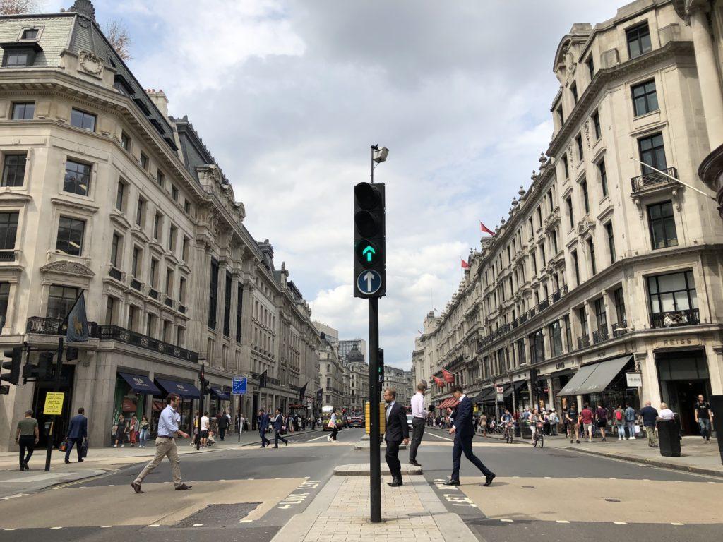 Regent Street, London, Silent Sunday, My Sunday Snapshot