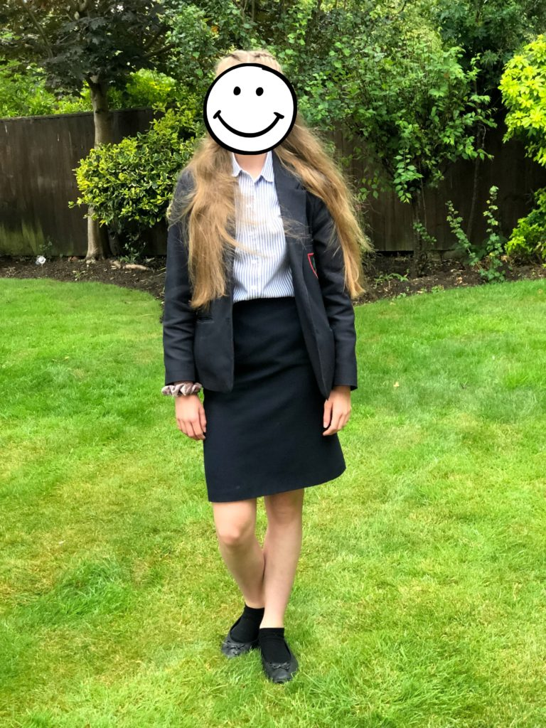 Daughter, Year 8, End of term, School, 365