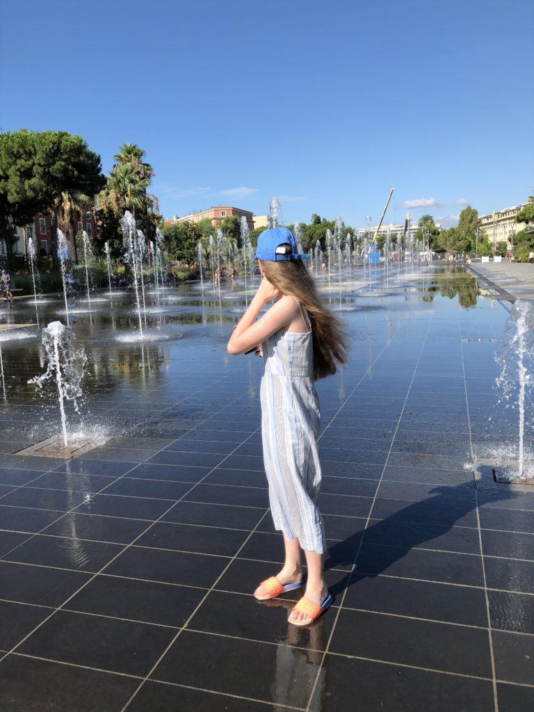 Promenade du Paillon, Nice, Holiday, France, Daughter, 365