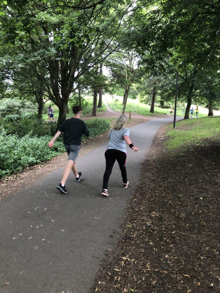 Walking, parkrun, son, 365, My son's 50th parkrun