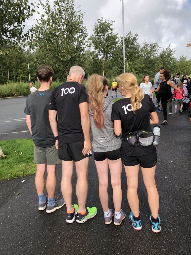 Family, parkrun, Eden Project parkrun, Son, Daughter, Husband