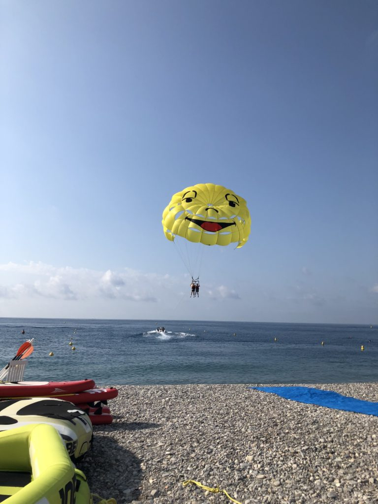 Parasailing, Watersports, Daughter, Husband, Nice, Holiday, France, 365, Things to do in Nice