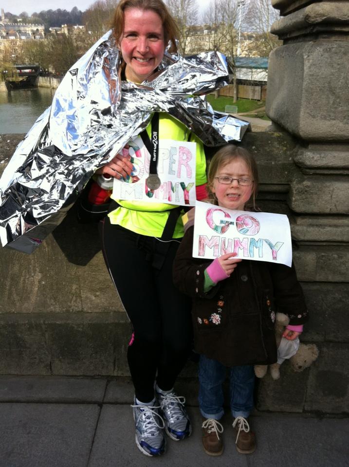 Bath half marathon, Mum, Daughter, Runner, 25 years of running