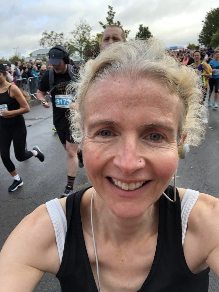 Cheltenham half marathon, Running, Runner, Selfie, Cheltenham half marathon 2019