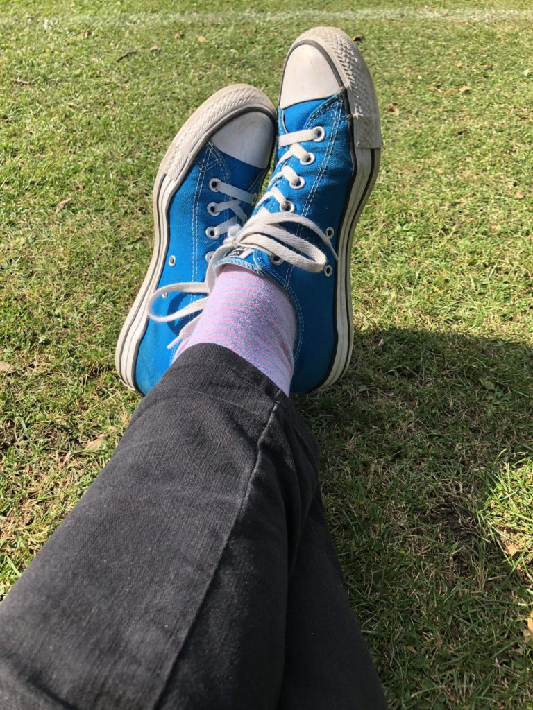 Feet, Trainers, Converse, Watching football, 365