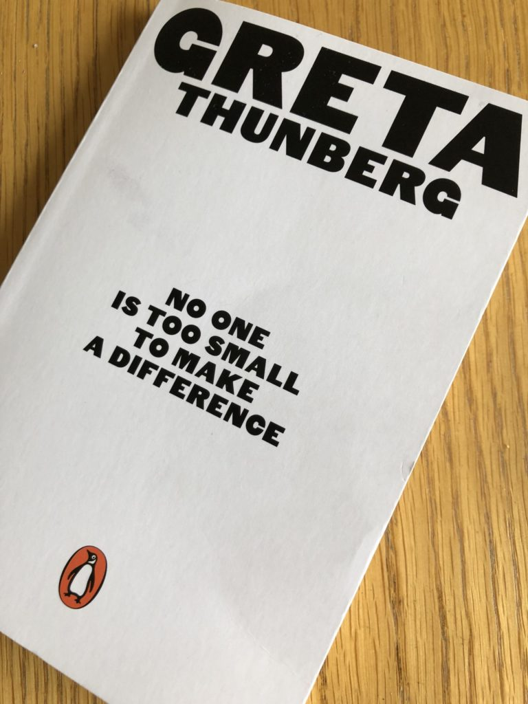 Greta Thunberg, No one is too small to make a difference, Book review