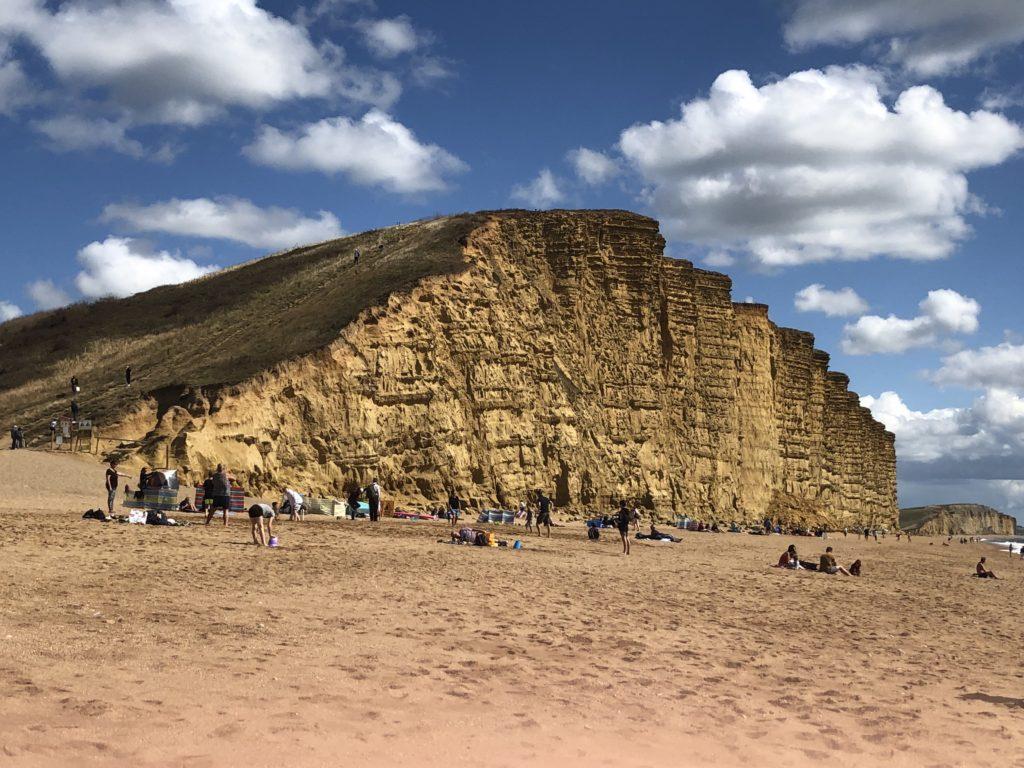 West Bay, Dorset, Cliffs, Broadchurch, 365