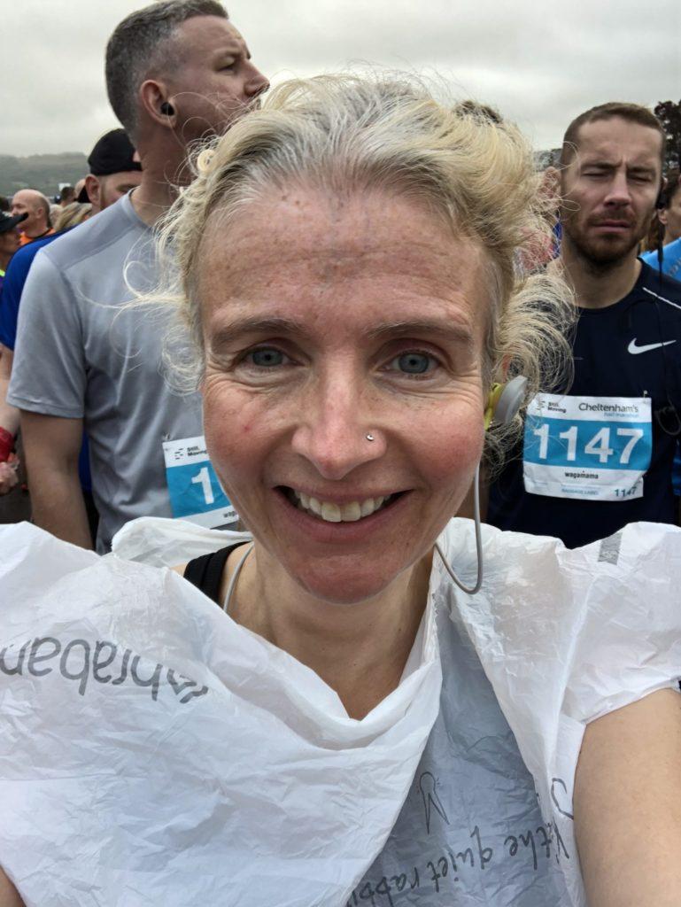Cheltenham half marathon, Selfie, Runner, Cheltenham half marathon 2019