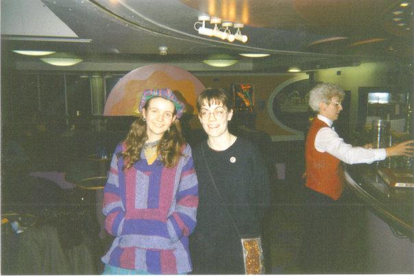 Friends, 1990s, My university days