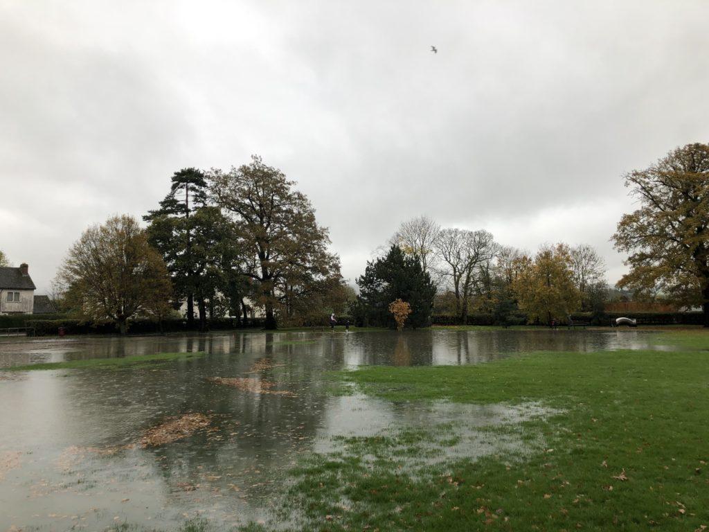 Flooding, Floods, Silent Sunday, My Sunday Snapshot, Park