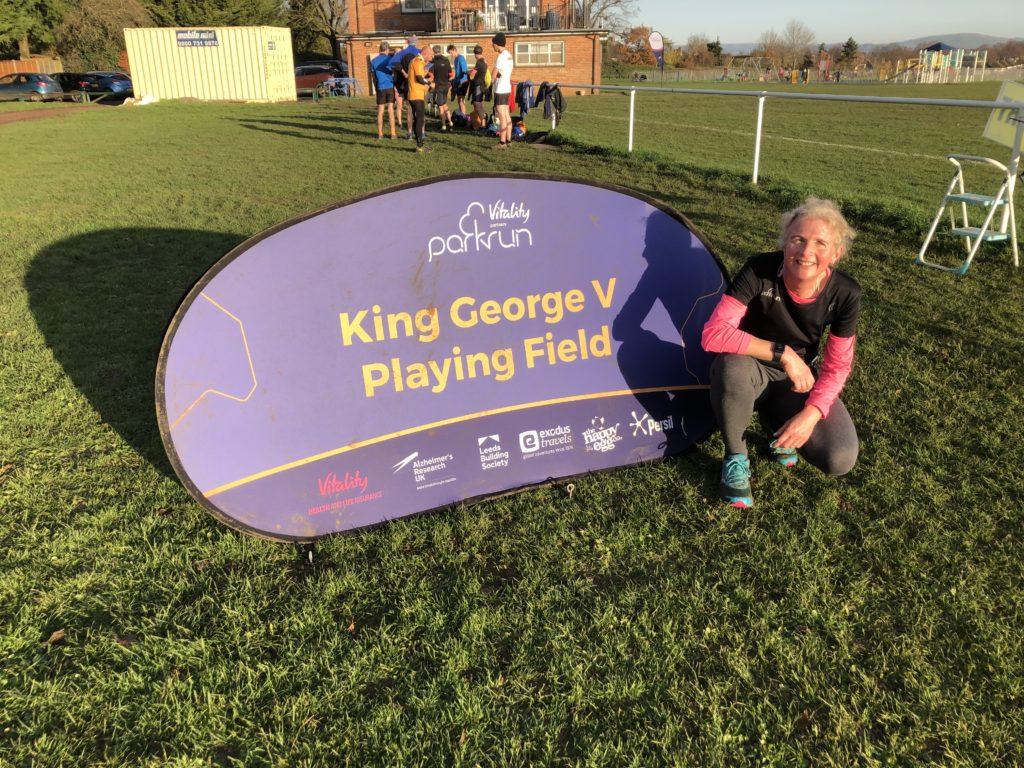 parkrun, runner, King George V playing field parkrun, 365