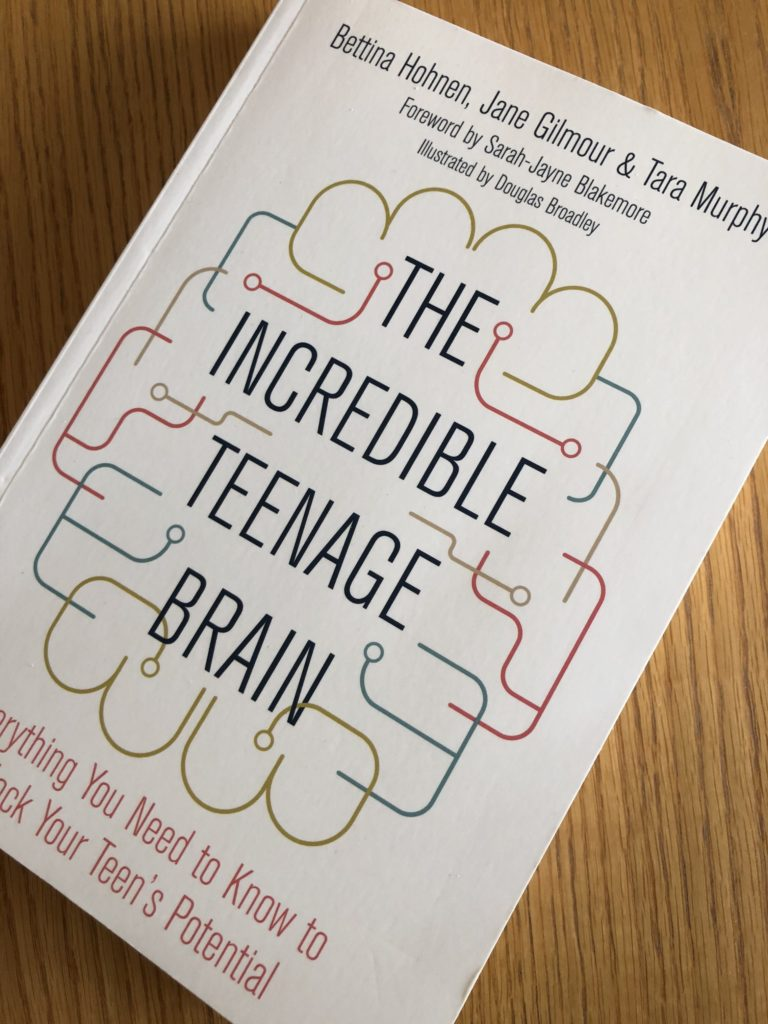 The Incredible Teenage Brain, The Incredible Teenage Brain by Bettina Hohnen, Book review