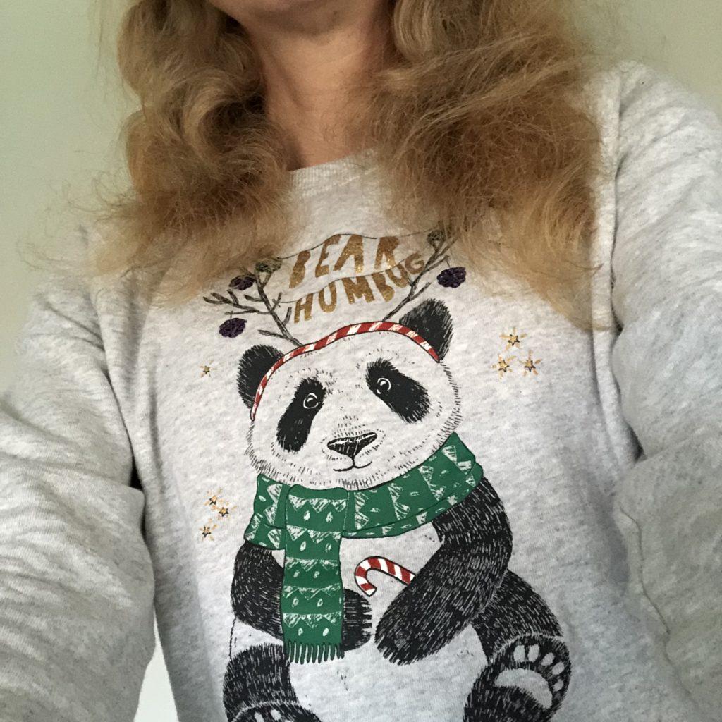 Christmas jumper, December, Panda, 365