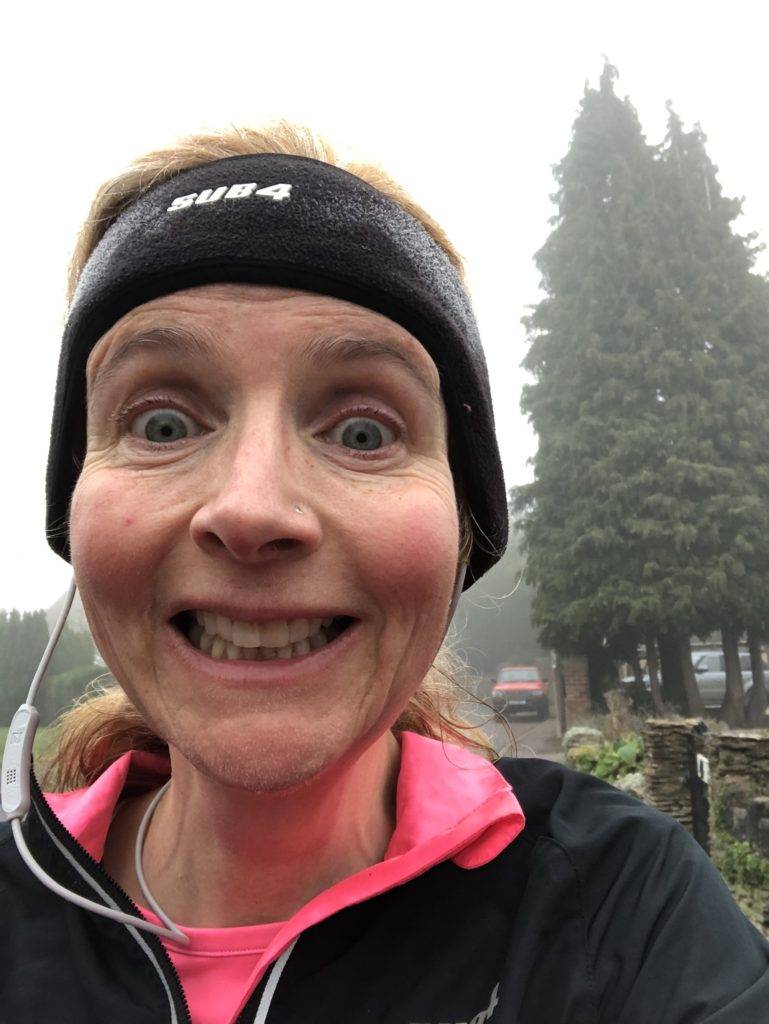 Running, Winter, Mist, Weather, 365