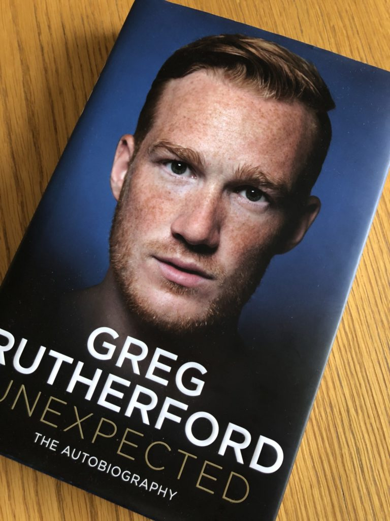 Greg Rutherford, Unexpected by Greg Rutherford, Book review, Unexpected review