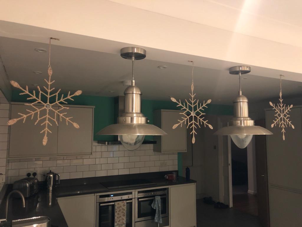 Christmas decorations, Kitchen, Silent Sunday, My Sunday Snapshot