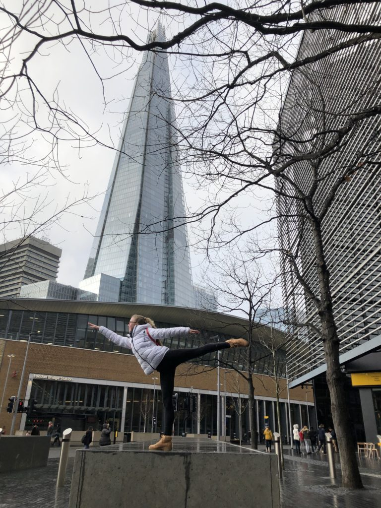 The Shard, Daughter, Ballet, Silent Sunday, My Sunday Snapshot