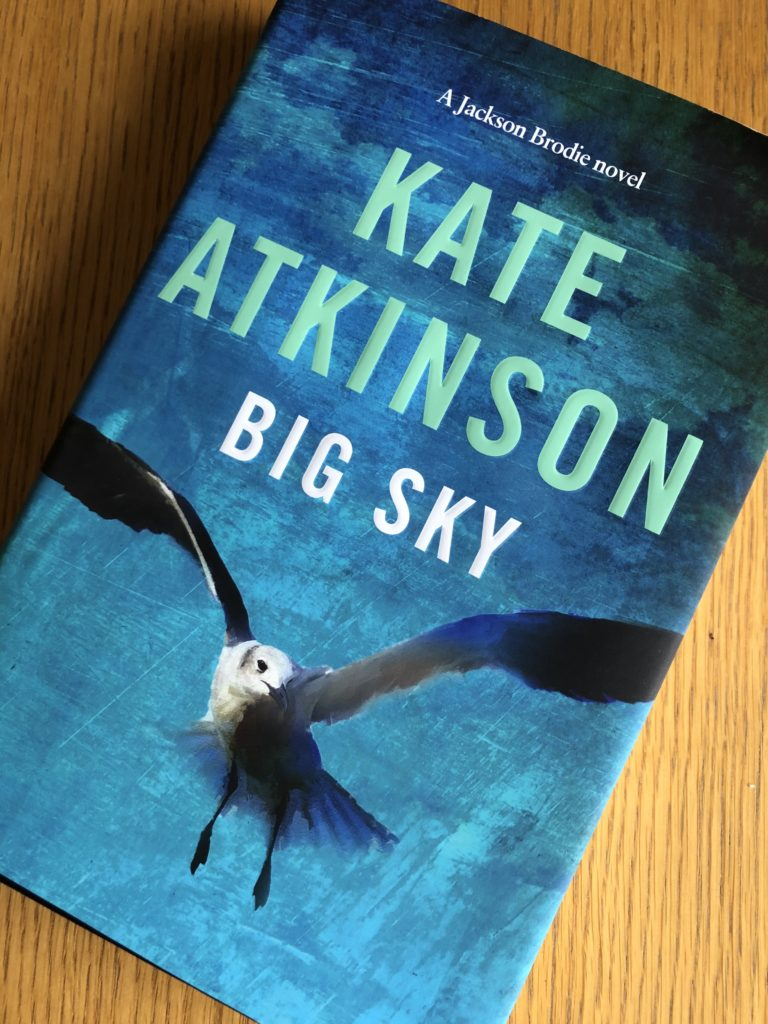 Big Sky, Big Sky by Kate Atkinson, Book review, Kate Atkinson