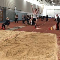 The indoor athletics competition