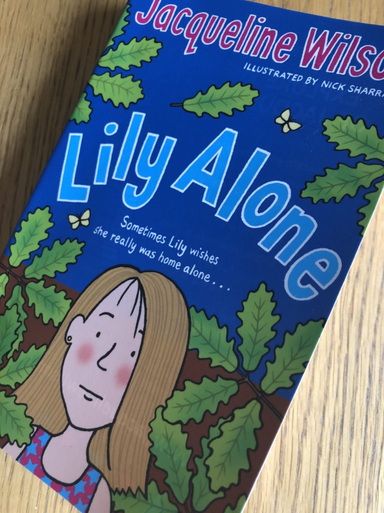 Lily Alone, Jacqueline Wilson, Lily Alone by Jacqueline Wilson, Book review
