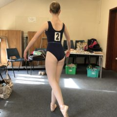 Intermediate Foundation ballet exam – merit!
