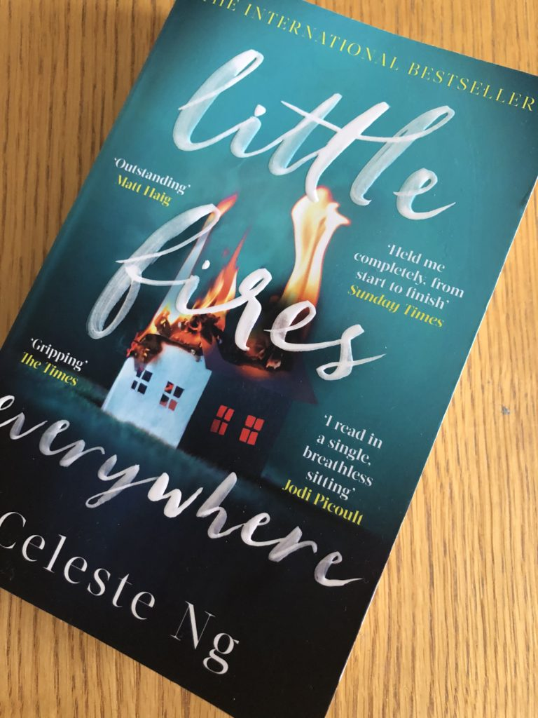 Little Fires Everywhere, Celeste Ng, Book review, Little Fires Everywhere by Celeste Ng