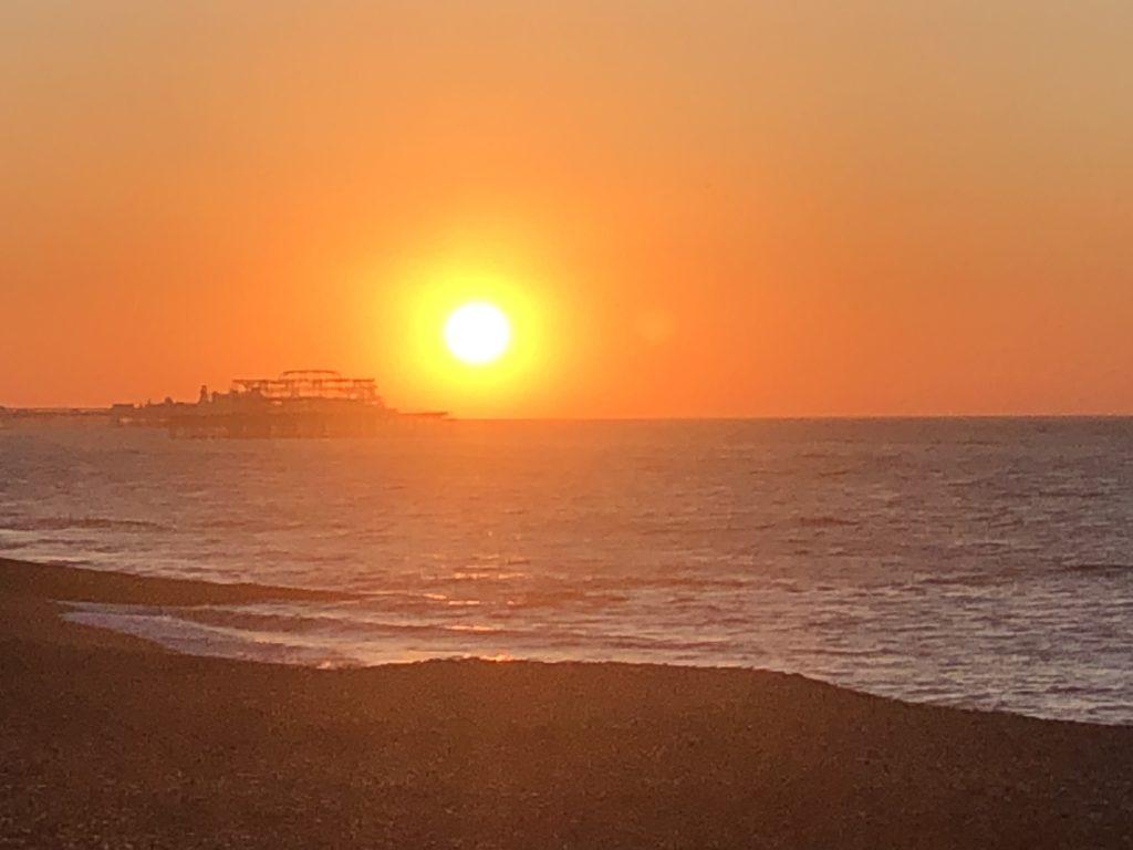 Sunrise, Sea, Brighton, 366