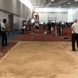 The athlete and the triple jump PB