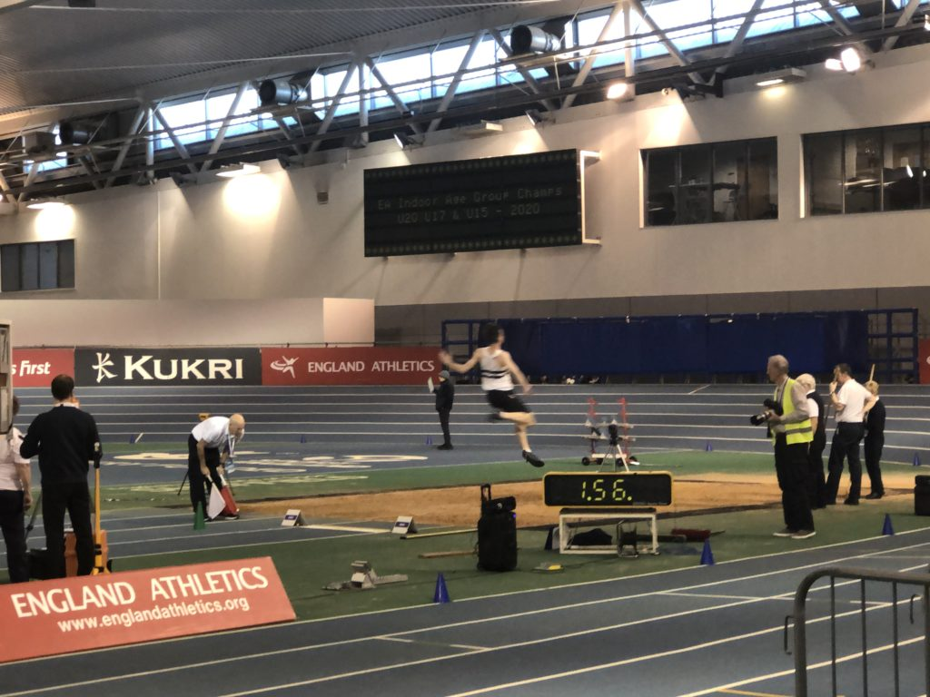 Long jump, Son, Athletics competition, EIS Sheffield, Athlete