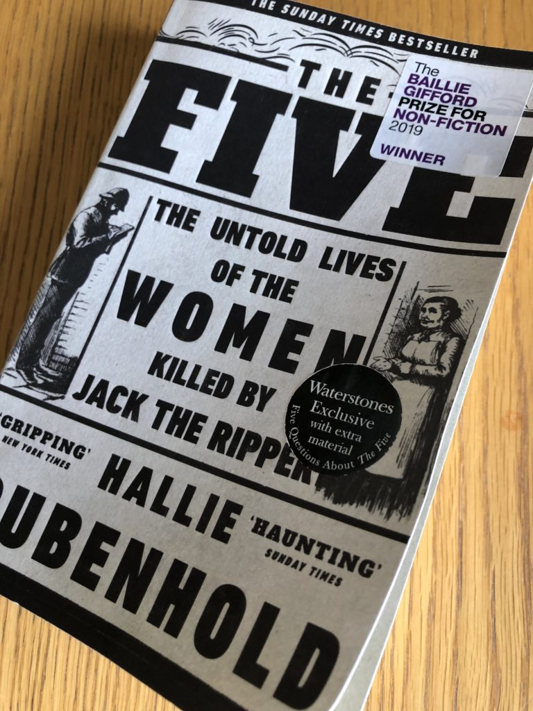 The Five by Hallie Rubenhold, The Five, Book review, The Five review, Hallie Rubenhold
