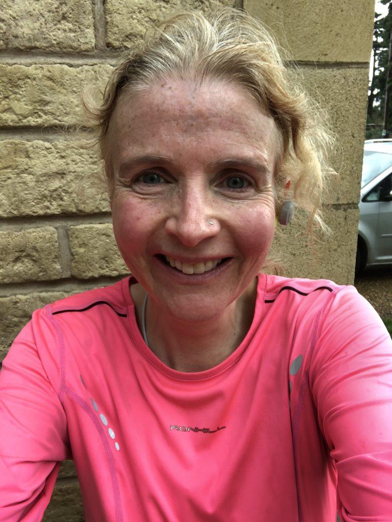 marathon training, running, running selfie, Brighton marathon