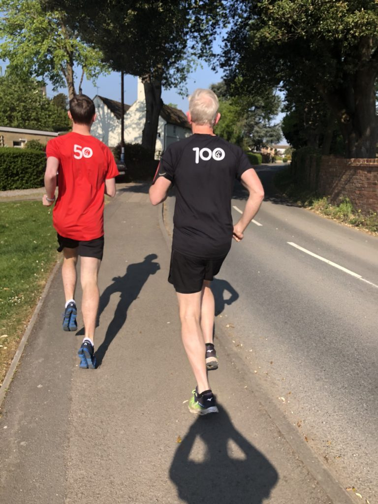 son, husband, running, parkrun, 366, (not)parkrun