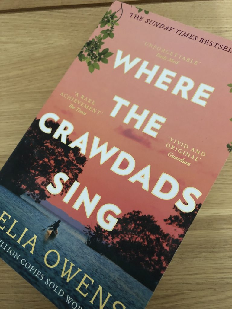 Where the Crawdads Sing by Delia Owens, Book review, Where the Crawdads Sing