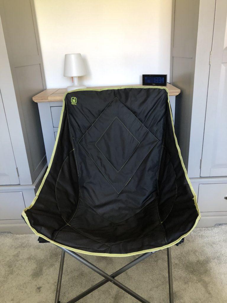 camping chair, bedroom, 366, lockdown, coronavirus, self-isolation