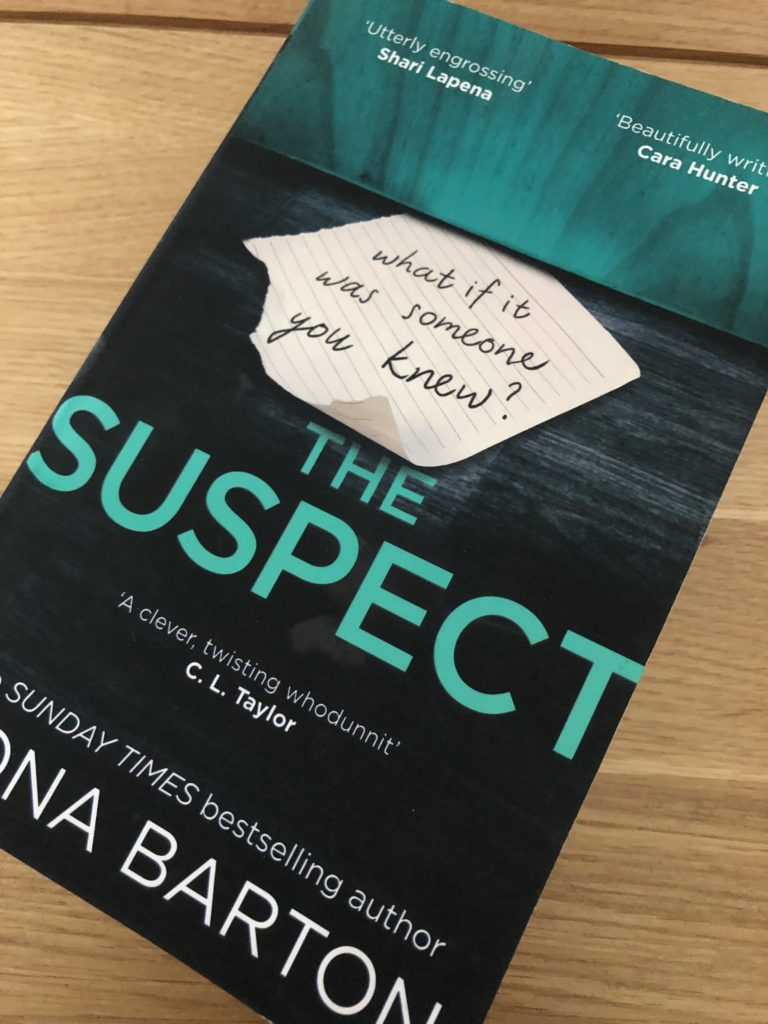 The Suspect, Fiona Barton, book review, The Suspect by Fiona Barton