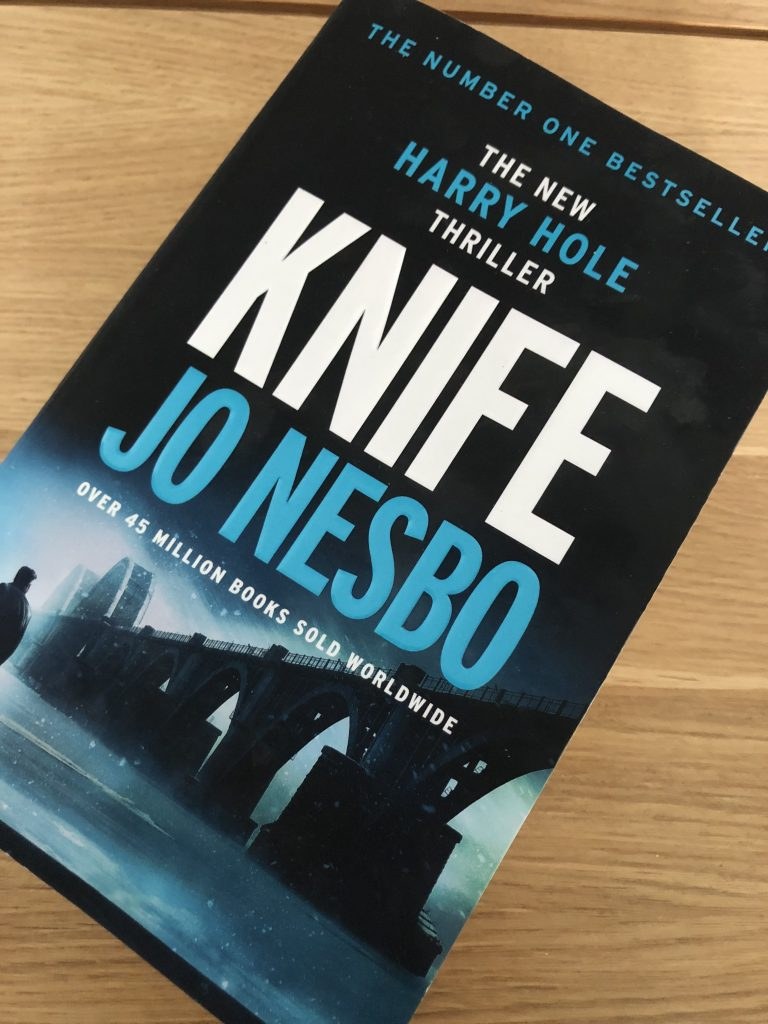 Knife, Jo Nesbo, Knife by Jo Nesbo, Book review, Knife review, Harry Hole