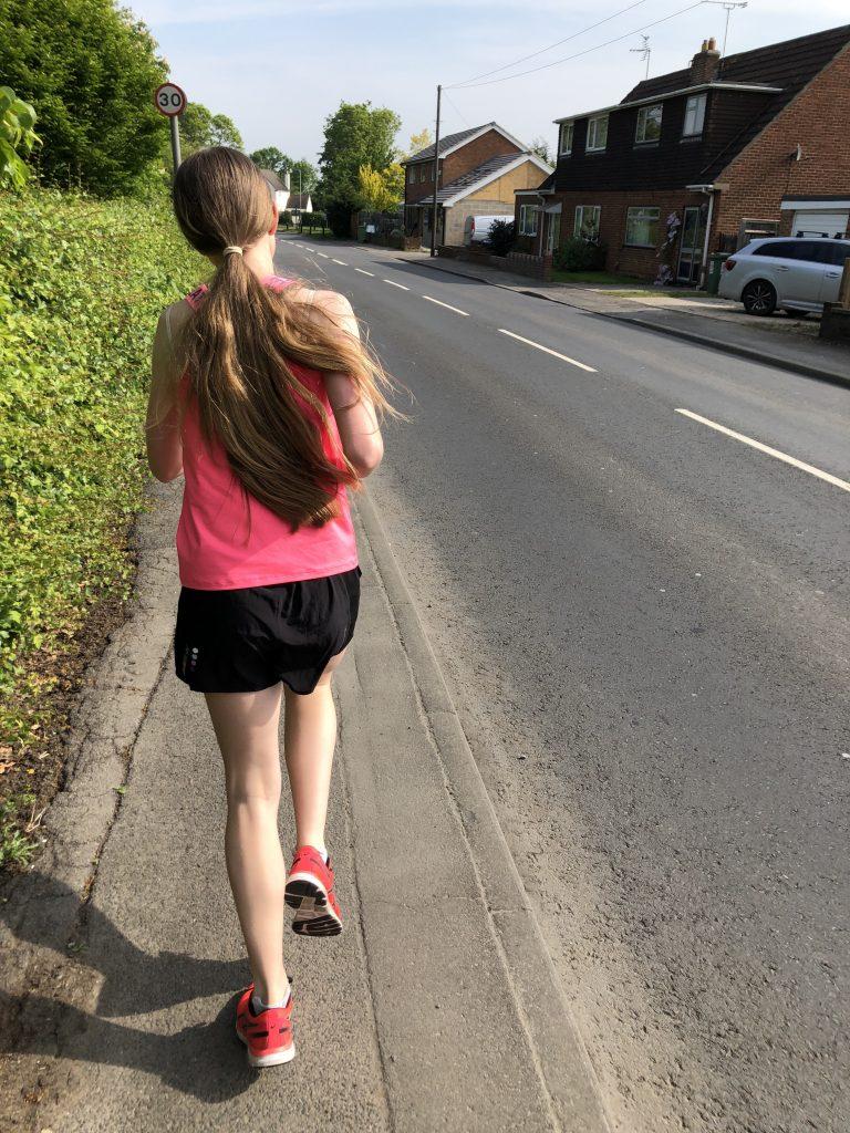 Daughter, Running, Runner, 366