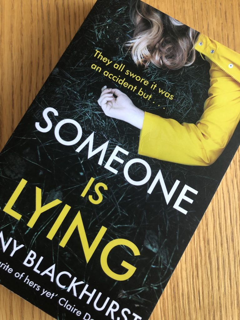 Someone is Lying, Jenny Blackhurst, Someone is Lying by Jenny Blackhurst, Book review