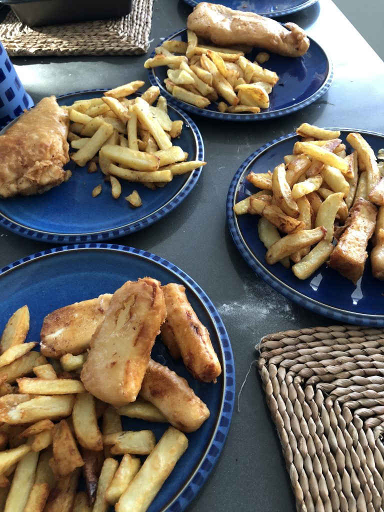 Fish and chips, Cooking, Home cooking, 366