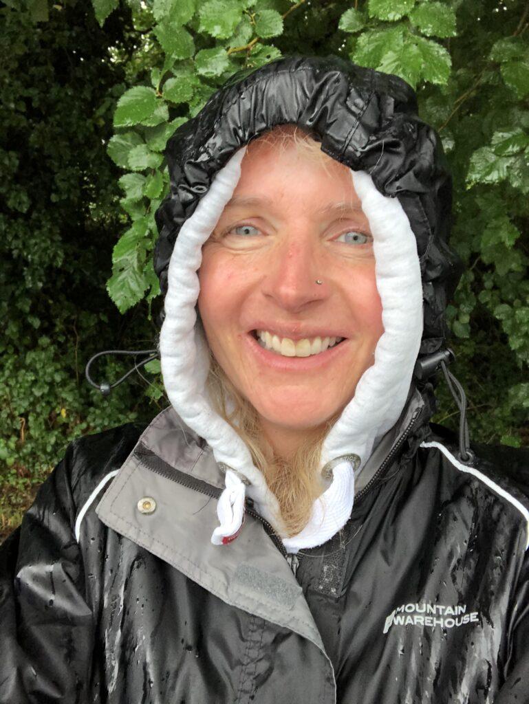 Rain, Walking, Selfie, 366