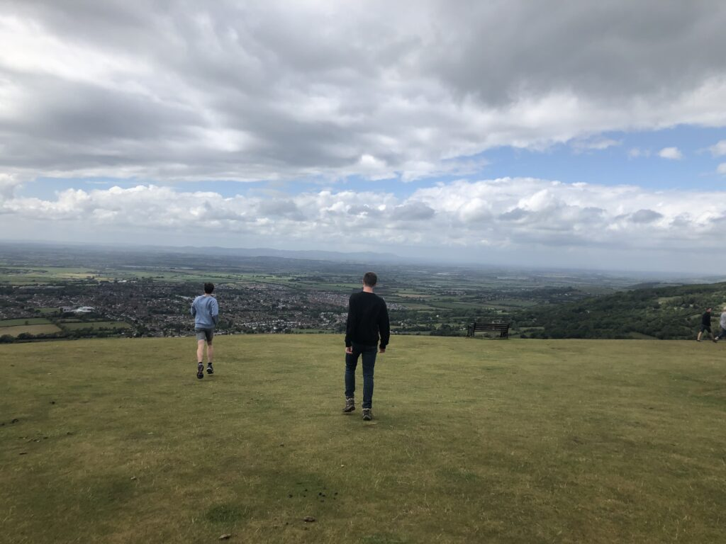 Hill, Landscape, Walking, Sons, Brothers, 366