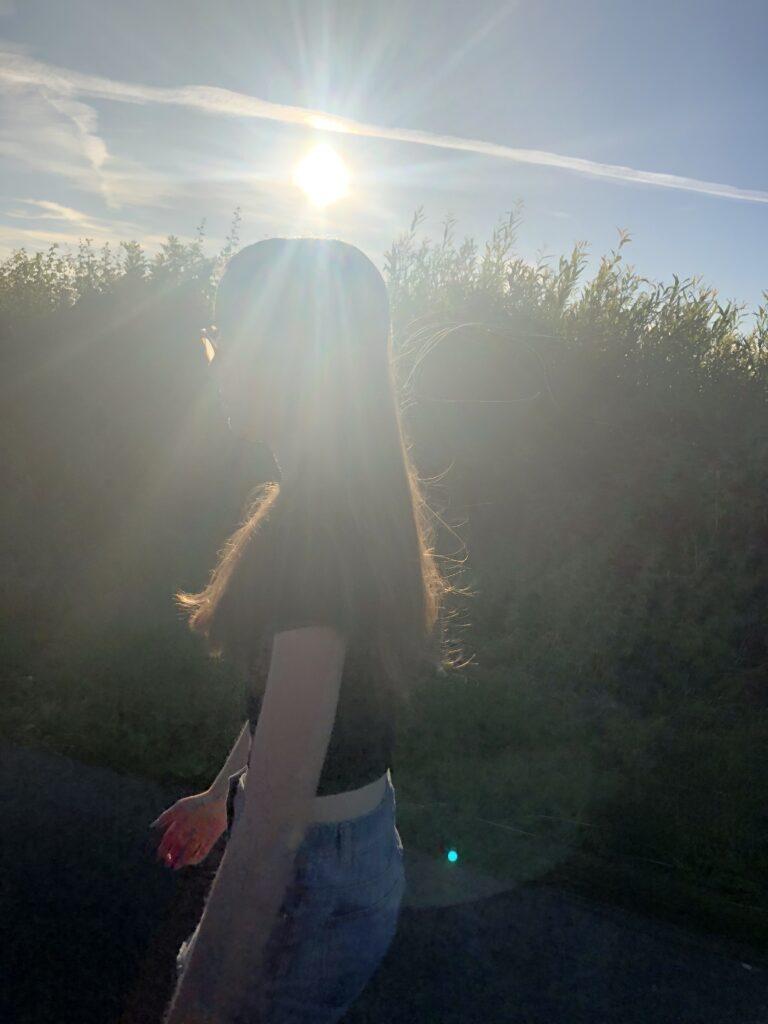 Daughter, Sunset, 366