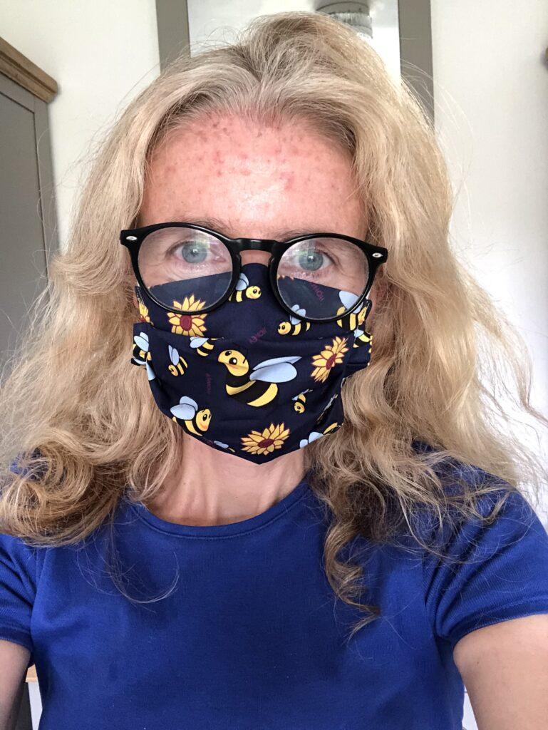 Mask, Face covering, selfie, 366