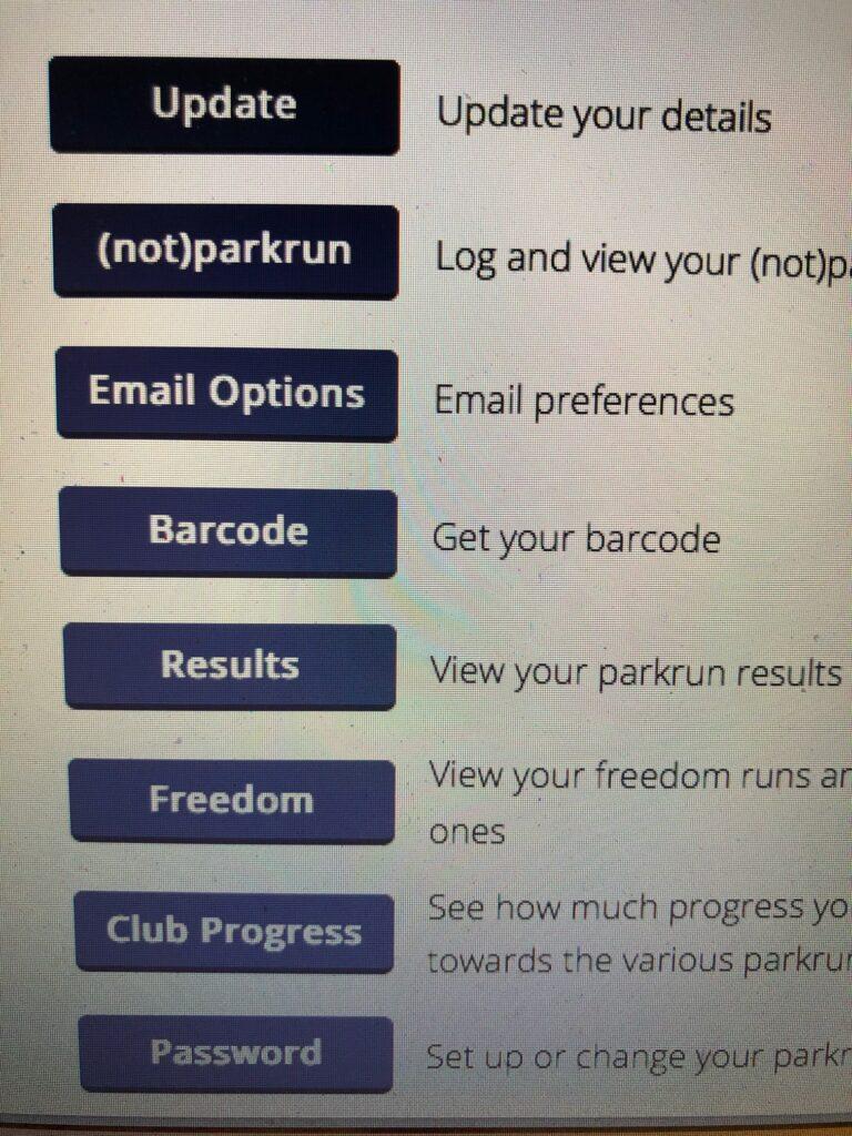 (not)parkrun, parkrun, parkrun profile