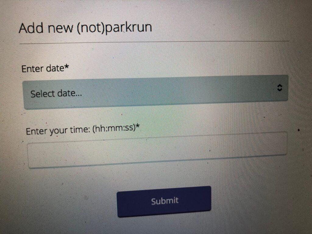 parkrun, (not)parkrun, 366, parkrun profile