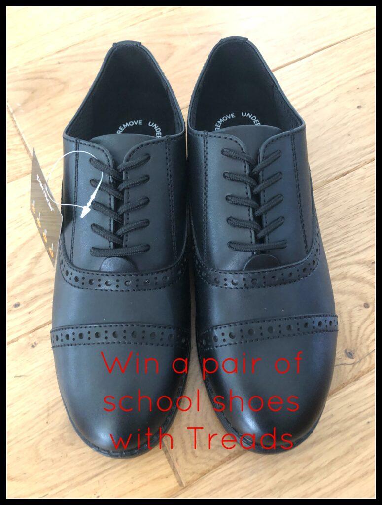 Treads school shoes, School shoes, Giveaway, Win
