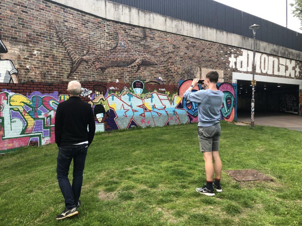 Street art, Graffiti, Cheltenham, Son, Husband, Silent Sunday, My Sunday Photo