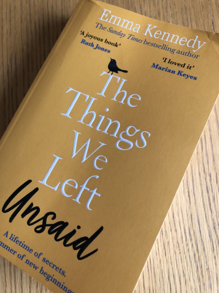 The Things We Left Unsaid, The Things We Left Unsaid by Emma Kennedy, Emma Kennedy, Book review